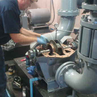 Chiller Pump Repair