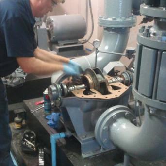 Chiller Pump Repair