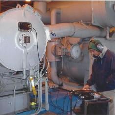 Carrier Chiller Motor Testing