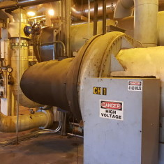 Carrier 19CB Chiller Controls Retrofit