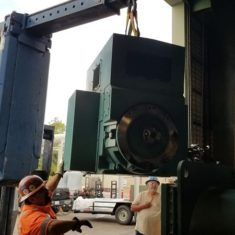 2000 Ton York Chiller Motor Repair in Orlando